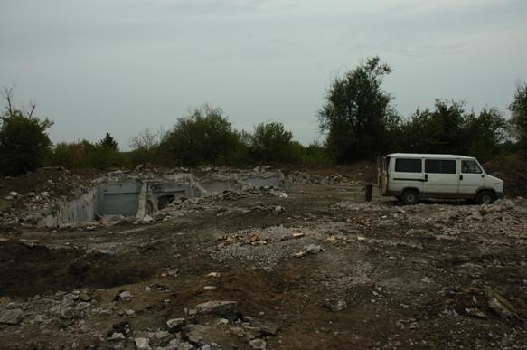 Pervomaysk UA 2010 SS-5 silo in afbraak