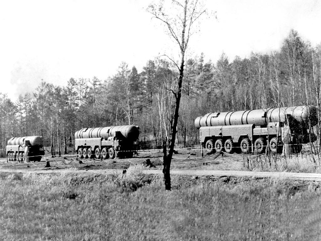 SS-20 on the road
