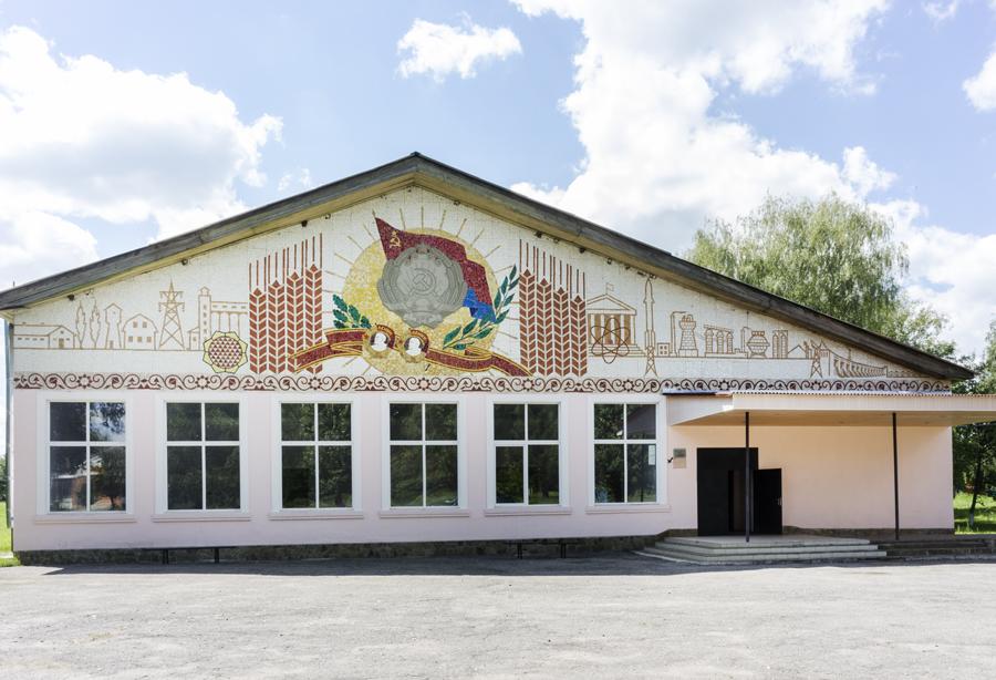 mozaiekgebouw